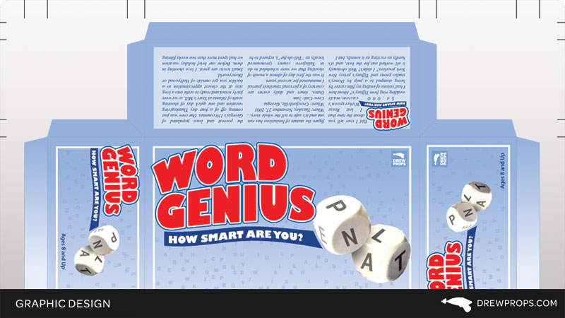 Word Genius Board Game